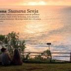 Senja dan Samudera, Sebuah Paduan Sempurna