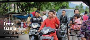 Kutacane, 10 Juli 2015: Ganja di TanahSyariat