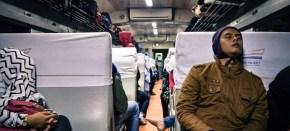 Kereta Api Serayu, 16 April 2017: Kenikmatan Perjalanan di Atas GerbongEkonomi