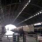 Akhir Pekan di Stasiun Tanjung Priok