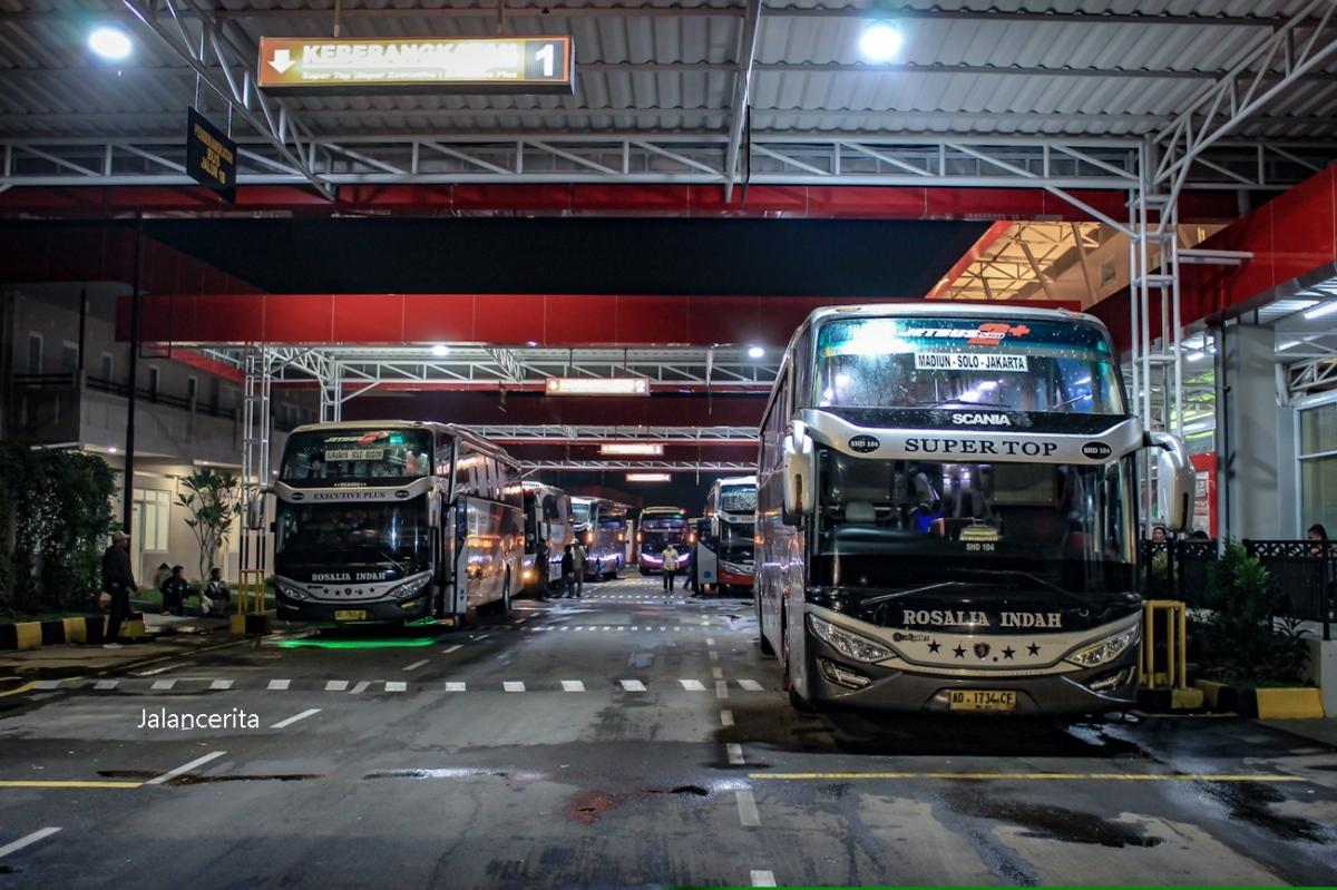 Trip Report: Menjajal Bus Malam Rosalia Indah Kelas Paling Mewah