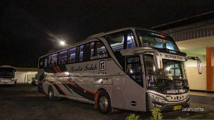 Trip Report Menjajal Bus Malam Rosalia Indah Kelas Super Top Jalancerita